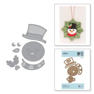 Spellbinders Snowman